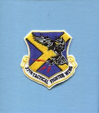 37th TFW LOCKHEED F-117 STEALTH FIGHTER WING Squadron Hat Jacket Patch
