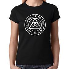 Verschwörungstheoretikerin Allsehendes Auge Sprüche Lustig Damen Girlie T-Shirt