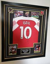 ** NEW MESUT OZIL of Arsenal Signed Shirt Autographed Jersey **