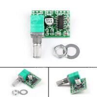 1x PAM8403 5V Power Audio Amplificador Tablero 2 Canal 3W Volume Control USB