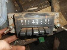 1973 Ford Truck Radio Amp Radio Heater Controls Bracket With Screws Oem Used