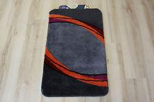 Tappeto da bagno Kleine Wolke GRANADA GRANATO 55x65 cm grigio arancione