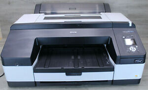 Epson Stylus Pro4900 Large Format InkJet Printer K181A Tested 115 Page Count
