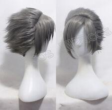 RWBY Mercury Black Prop Gray Style Party Cosplay Halloween Hair Wig