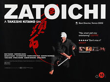 ZATOICHI THE BLIND SWORDSMAN MANIFESTO TAKESHI KITANO ORIENTE GIAPPONE SAMURAI