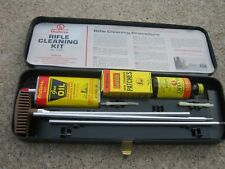 Vintage Used Outers Gun Cleaning Kit Bottle Can mostly are empty