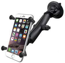 RAM X-Grip Suction Cup Long Arm Mount for Large Cell Phone - Fits Nexus 6