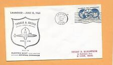 THOMAS A EDISON LAUNCHED JUN 15,1961 GROTON CT