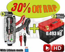 Lithium Deal - Battery + charger - KTM EXC 300 2T - 2013