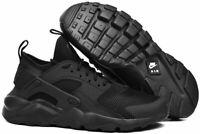 Nike Air Huarache Run Ultra GS Kid Trainer Running Shoe Black 847569 004 Sz 3.5Y