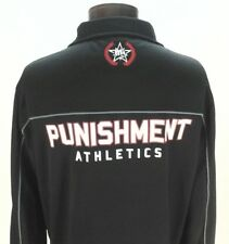 Punishment Athletics Mens MMA Tito Ortiz Jacket Warmer Black Large Ultra Rare