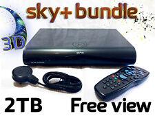 Sky PLUS + HD Box & Remote Bundle - Easy Freeview Freesat DRX895 3D -  2TB Model