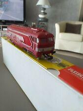 locomotive HO BB 67001 rouge jouef