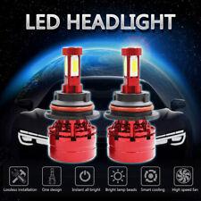 2350W 352500LM 4-Sides COB LED Headlight Kit HB5 9007 Hi/Lo Beams 6000K Bulbs X2