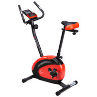 HMS Fitness Bike Fahrrad Heimtrainer Cardio bis 110kg Indoor Trimmrad Ergometer