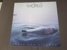 The World 1983 Break The Silence 12x12 Promo Cover Flat Poster Wayne Hammer