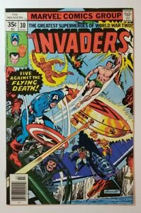 The Invaders #30 (Marvel, 1978) NM- 9.2 Captain America, Torch & Sub-Mariner!