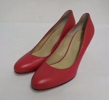 Lovely Hobbs Italien en Cuir Cour Chaussures Rouge 41 UK 8 US 10