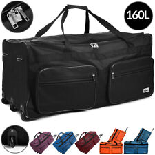 DEUBA® Reisetasche Sporttasche Reisekoffer Trolley Tasche Gepäcktasche 160 Liter