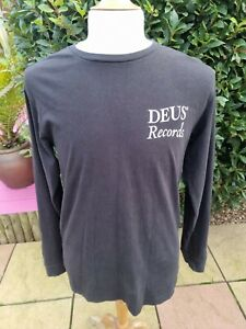 Deus Ex Machina Records New York Long Sleeve T Shirt Large