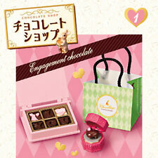 Rare! Re-ment Miniature Chocolate Shop 2 No.1 Engagement Chocolate
