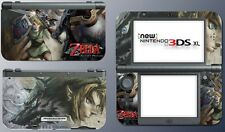 Legend of Zelda Twilight Princess Link Wolf Game Decal Skin New Nintendo 3DS XL