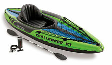 Intex Challenger K1 1 Person Inflatable Kayak