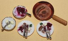 Es gab Bratwurst mit Rotkohl.... /Puppenküche  *Miniatur 1:12 by BP*
