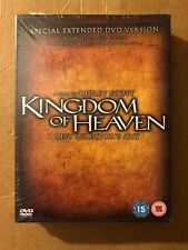 Kingdom of Heaven (4 Disc Special Extended Director's Cut) DVD - CD 20vg The