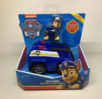 PAW Patrol - Chase's Patrol Cruiser Vehicle with Collectible Figure - Brand New