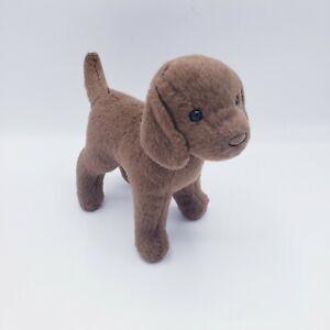 "Douglas Cuddle Toy Plush Small Brown Puppy Dog Labrador Lab 5"" Tall"