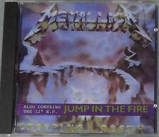 USED VERY RARE METALLICA CREEPING DEATH/JUMP IN THE FIRE EP - MADE IN FRANCE