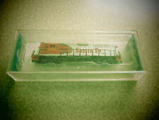 "BACHMANN ""N"" GAUGE EIGHT WHEEL SANTA FE LOCOMOTIVE"