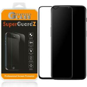 SuperGuardZ FULL COVER Tempered Glass Screen Protector Guard For OnePlus 7T