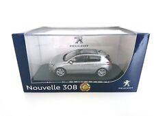Peugeot 308 Gris Artense 2013 1/43