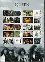 Queen -Freddie Mercury 2020 Great Britain Special postage stamp sheet