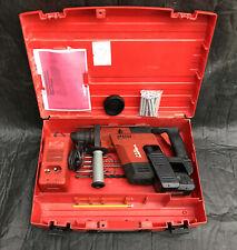 TOP: Hilti TE5 A Akkubohrhammer mit Bohrern und Koffer - komplett