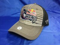 RED BULL Grand Prix Of The Americas Event Hat GREY Size L/XL NWT $30 MOTO GP