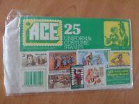 Rare ACE Uniform & costume stamps