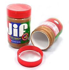 1 Piece New Peanut Butter Diversion Security Safe Hide Stash 16 OZ