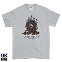 Winter Is Coming Santa Of Throne Christmas Xmas Funny Mens Womens Kids T-Shirt