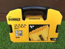 DEWALT DT83001 13pce Holesaw Drill Bit Set