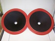 CERWIN VEGA 12'' WOOFER foam cone pair # G62040 1.5'' voice coil
