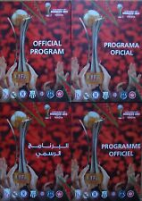Fifa Club World Cup Morocco 2014 - Complete set of all 4 different programmes