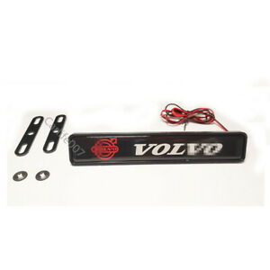 LED Car Logo Light Car Front Grille Badge Illuminated Decal Sticker for VOLVO