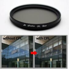 37 43 46 49 55 58 62 67 72 77 82mm CPL Camera Circular Polarizing Lens Filter