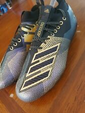 Adidas Adizero 8.0 D97650 Black/Purple/Gold Football Cleats Size 10.5 NEW