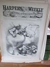 Vintage Print,CRADLE OF LIBERTY,Harpers,Nast,1874