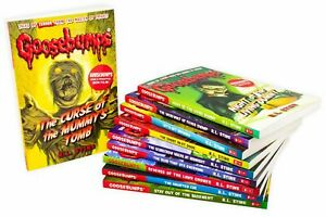 Goosebumps Classic Series 10 Books Children Collection Paperback  By R.L Stine