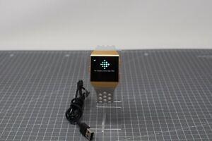 Fitbit Ionic Smart Watch - Burnt Orange Pebble / Grey Straps - IOO22